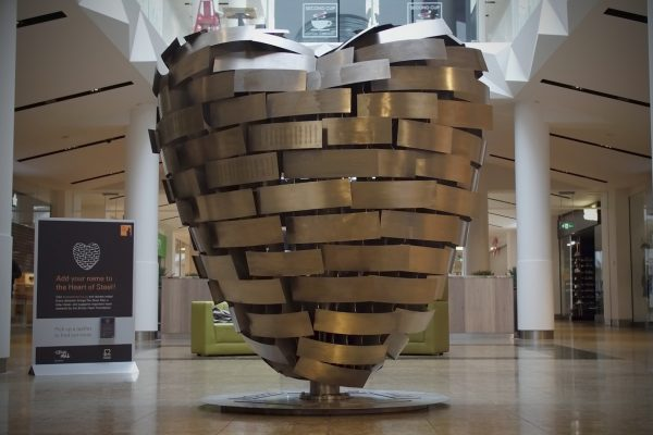 The Heart of Steel in Meadowhall
