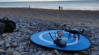 BESQ DRONE on BEACH
